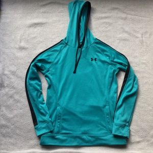 Under Armour teal Hoodie size xs